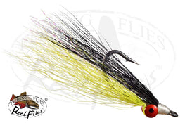 Clouser Minnow Chartreuse Black