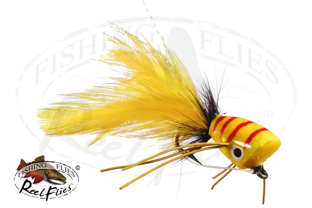 Bass Popper Yellow
