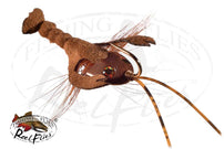 Reelflies Reel Bonehead Crayfish Brown