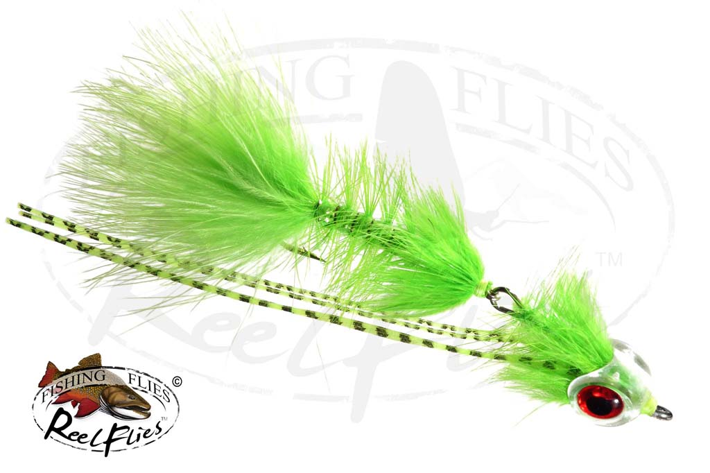 Articulated Bugger Chartreuse