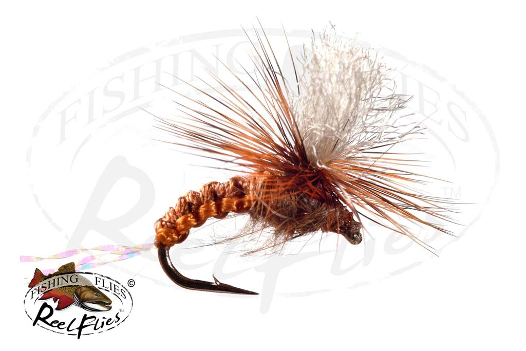 Brown Woven Emerger Parachute