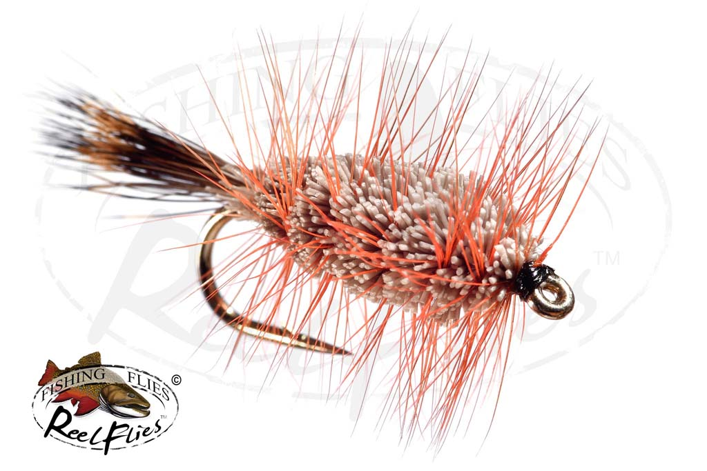 Buck Bug Natural Orange Hackle