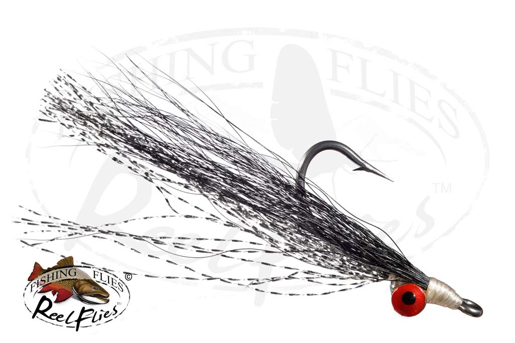 Clouser Minnow Black Silver