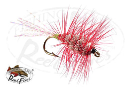 Glitter Buck Bug Green Red