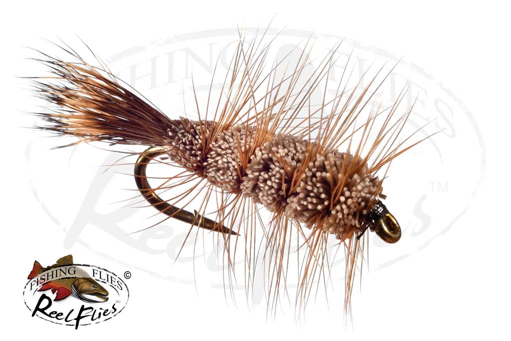Buck Bug Brown Natural Brown Hackle Natural Tail