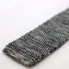 Grey And White Marl Textured Knitted Tie