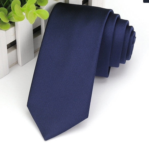 267a844b5641 Light Navy Blue Satin Tie. Availability: 2 in stock
