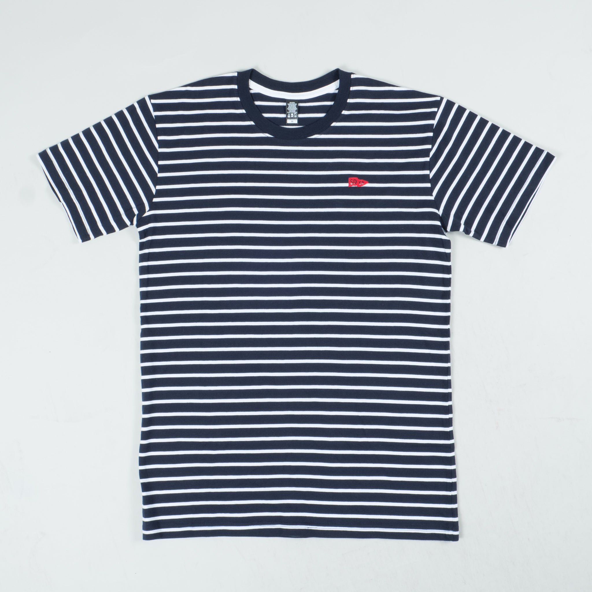 San Diego Collection / Navy and White Stripe Tee