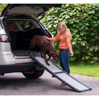 Full Length Pet Ramp (Bi-Fold/All-Weather/Carpeted) - FurMinded