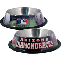 Arizona Diamondbacks Dog Bowl - FurMinded