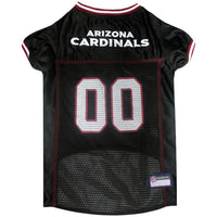 Arizona Cardinals Dog Jersey - MESH Red Trim - FurMinded