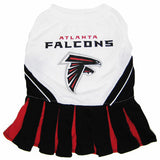 Atlanta Falcons Cheerleader Dog Dress - FurMinded