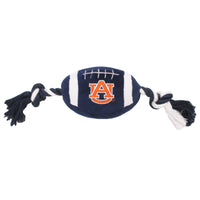 Auburn Tigers Plush Football Dog Toy - FurMinded