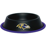 Baltimore Ravens Dog Bowl - FurMinded