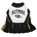 Baltimore Ravens Cheerleader Dog Dress - FurMinded