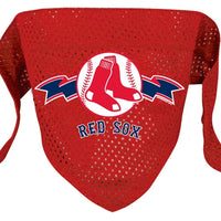 Boston Red Sox Mesh Dog Bandana - FurMinded