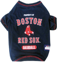 Boston Red Sox Dog Tee Shirt - FurMinded