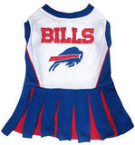 Buffalo Bills Cheerleader Dog Dress - FurMinded