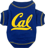 California Berkeley Golden Bears Dog T-Shirt - FurMinded