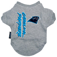 Carolina Panthers Dog Tee Shirt - FurMinded