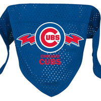 Chicago Cubs Mesh Dog Bandana - FurMinded