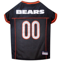 Chicago Bears Dog Jersey - MESH Orange Trim - FurMinded
