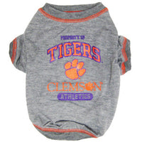 Clemson Tigers Dog T-Shirt - FurMinded