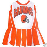 Cleveland Browns Cheerleader Dog Dress - FurMinded