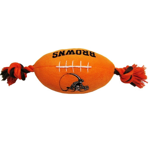 Cleveland Browns Plush Dog Toy - FurMinded