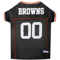 Cleveland Browns Dog Jersey – MESH White Trim - FurMinded