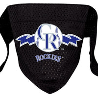 Colorado Rockies Mesh Dog Bandana - FurMinded