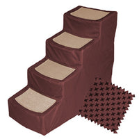 Pet Step - Pet Step 4 with Removable Cover (2 Colors) - FurMinded