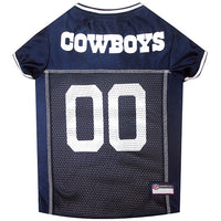 Dallas Cowboys Dog Jersey - MESH Gray Trim - FurMinded
