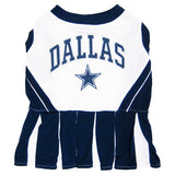 Dallas Cowboys Cheerleader Dog Dress -FurMinded