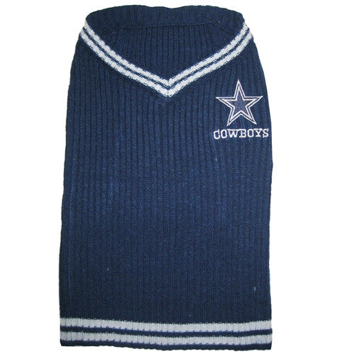 Dallas Cowboys Dog Sweater - FurMinded
