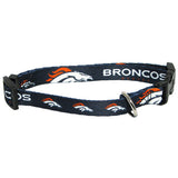 Denver Broncos Dog Collar - FurMinded