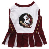 Florida State Seminoles Cheerleader Dog Dress - FurMinded