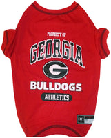 Georgia Bulldogs Dog T-Shirt - FurMinded