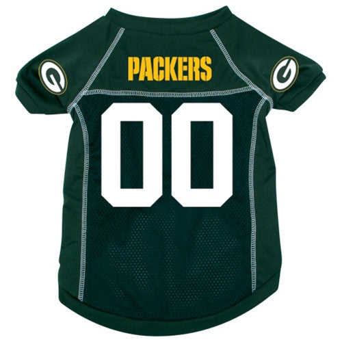 Green Bay Packers Dog Jersey - FurMinded