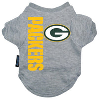 Green Bay Packers Dog T-Shirt - FurMinded