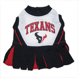 Houston Texans Cheerleader Dog Dress - FurMinded