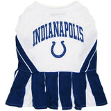 Indianapolis Colts Cheerleader Dog Dress - FurMinded