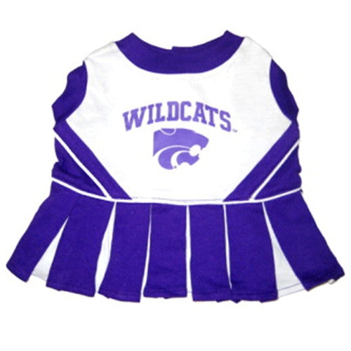 Kansas State Wildcats Cheerleader Dog Dress - FurMinded