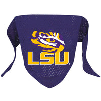 LSU Tigers Dog Bandana - FurMinded