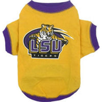 LSU Tigers Dog T-Shirt - FurMinded
