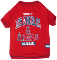 Los Angeles Angels Dog Tee Shirt - FurMinded