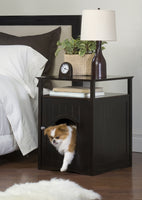 Night Stand Pet House - Espresso Solid - Furminded