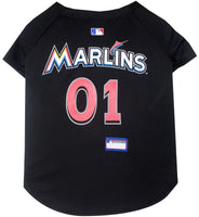 Miami Marlins Dog Jersey - FurMinded