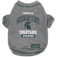 Michigan State Spartans Dog T-Shirt - FurMinded