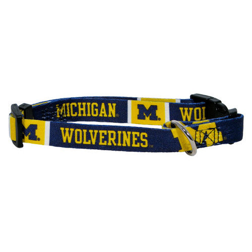 Michigan Wolverines Dog Collar - FurMinded